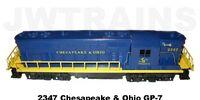 2347 Chesapeake & Ohio GP7