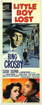 1953 - Little Boy Lost Movie Poster