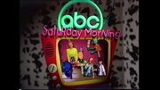 ABC Saturday Morning 1996 Commercial