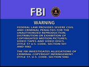 CTHE FBI Warning