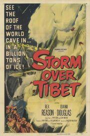 1952 - Storm Over Tibet Movie Poster