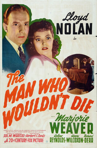File:1942 - The Man Who Wouldn't Die Movie Poster.jpg