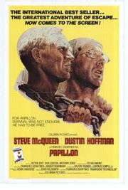 1973 - Papillon Movie Poster