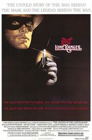 1981 - The Legend of the Lone Ranger Movie Poster