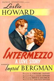 1939 - Intermezzo - A Love Story Movie Poster