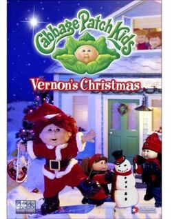 Cabbage patch kids vernons christmas vhs