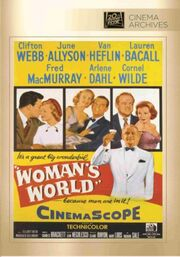 1954 - Woman's World DVD Cover (2014 Fox Cinema Archives)