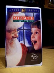 Miracle on 34th Street 1996 Reprint VHS