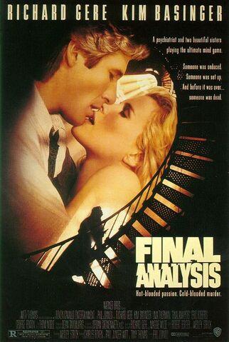 File:1992 - Final Analysis Movie Poster.jpg