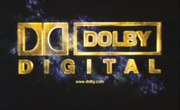 Dolby Digital Aurora Logo in Bright Yellow