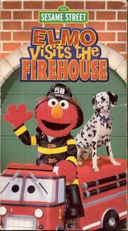 Elmo Visits the Firehouse VHS