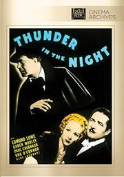 1935 - Thunder in the Night DVD Cover (2015 Fox Cinema Archives)