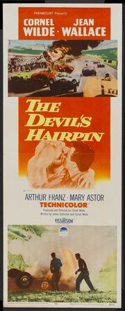 1957 - The Devil's Hairpin Movie Poster