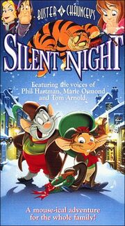 1998 - Buster & Chauncey's Silent Night VHS Cover