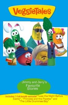 Veggie Tales Jimmy and Jerry's Favourite Stories