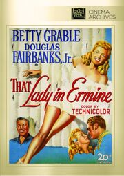 1948 - The Lady in Ermine DVD Cover (2012 Fox Cinema Archives)
