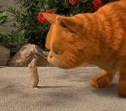 Garfield sees louis