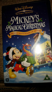 Mickey's Magical Christmas UK VHS