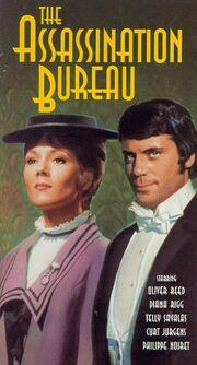 The Assassination Bureau 1992 VHS (Front Cover)