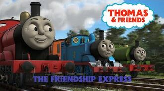 Thomas & Friends - The Friendship Express (US fan-made DVD)