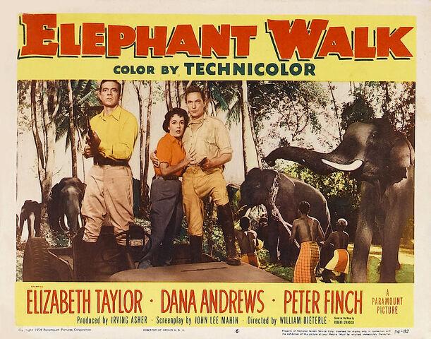 File:1954 - Elephant Walk Movie Poster.jpg