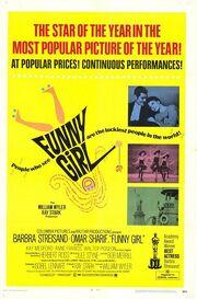 1968 - Funny Girl Movie Poster
