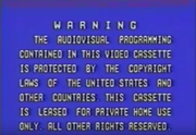 Asia Television Limited Warning Screen