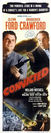 1950 - Convicted Movie Poster