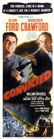 File:1950 - Convicted Movie Poster.jpg