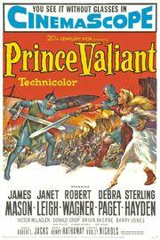 1954 - Prince Valiant Movie Poster