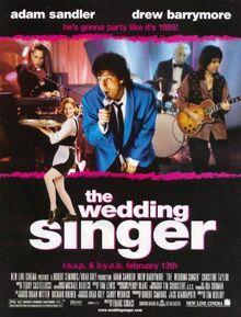 1998 - The Wedding Singer Movie Poster