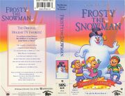 Frosty The Snowman VHS Cover 0