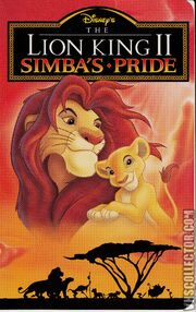 Lion King II -VHS-front