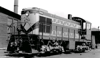Maywood Station Museum - NYS&W S-2 -206 (1)