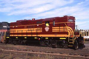 Heritage Locomotive - Pan Am Railways 2011-08 - ST77 (2011-Boston & Maine)