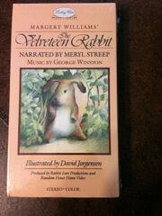 The Velveteen Rabbit 1985 VHS Cover