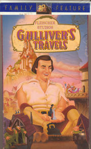 Gulliver's Travels Family Features VHS