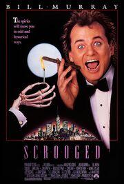 1988 - Scrooged Movie Poster