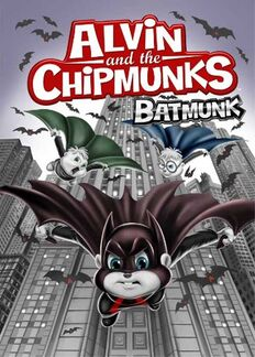 Alvin and the chipmunks batmunk dvd