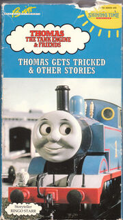 1993 VHS Shining Time Station Thomas Gets Tricked