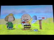 Charlie Brown and Peppermint Patty from A Charlie Brown Valentine
