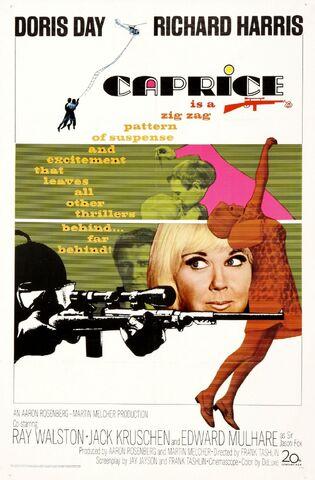 File:1967 - Caprice Movie Poster.jpg