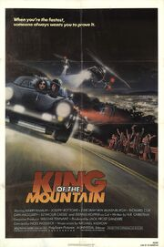 1981 - King of the Mountain Movie Poster