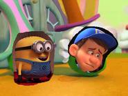Felix and minion
