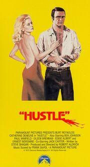 Hustle 1991 VHS (Front Cover)