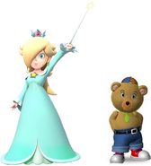 Rosalina and Master tubby bear