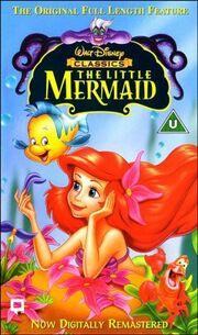 The little mermaid uk vhs