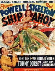 1942- Ship Ahoy Movie Poster