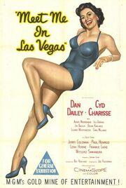 1956 - Meet Me in Las Vegas Movie Poster