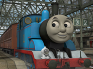 Thomas at station